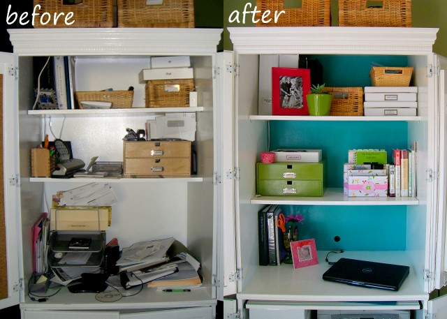 Home Office Organization Desktop